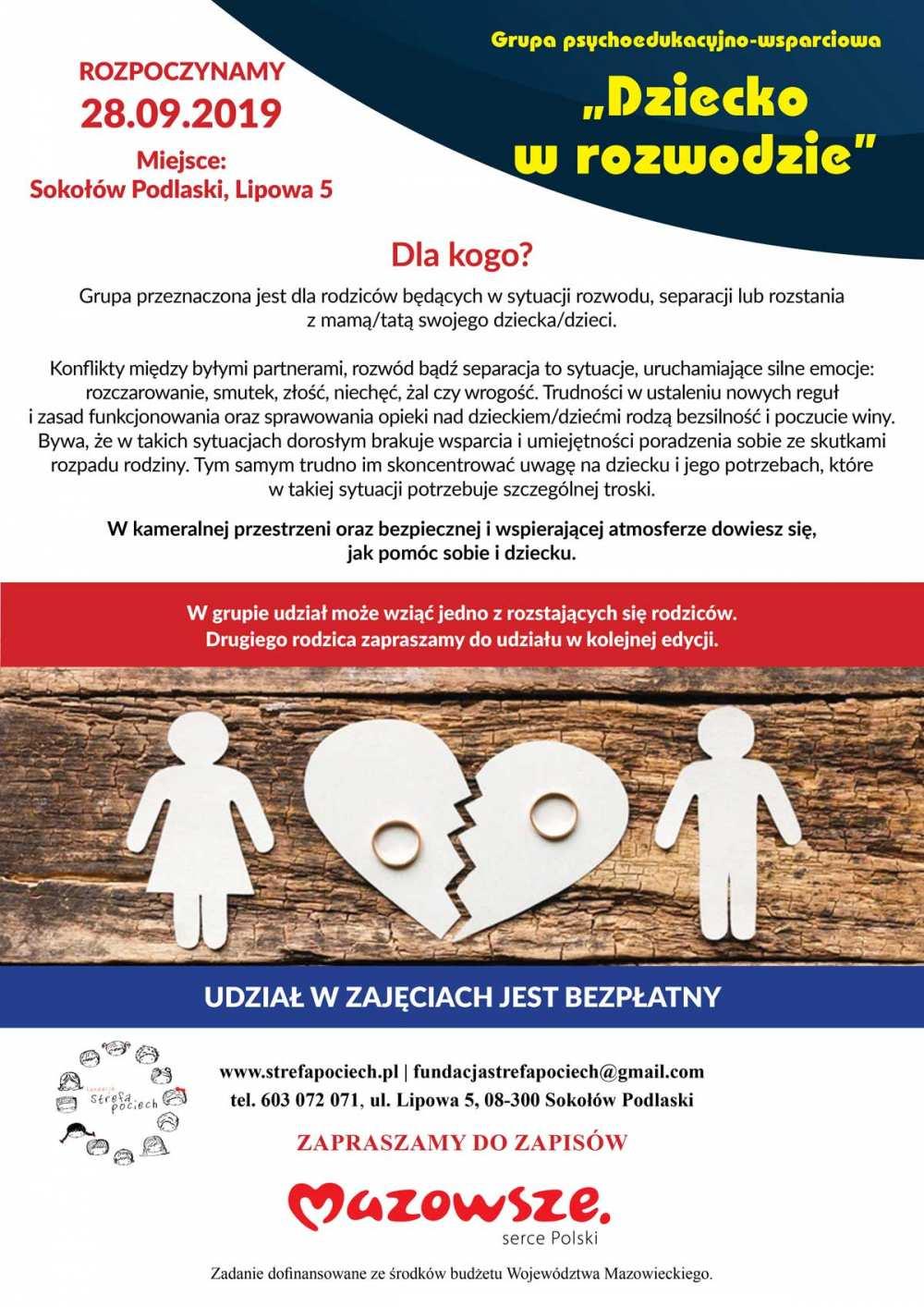 Plakat A3 dzieci w rozwodzie duy